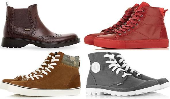 Мужская обувь 2014, зима