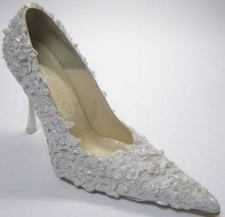 Wedding shoes  - fashion 2010. fashionable wedding shoes
