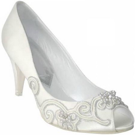 fashionable wedding shoes 2010
