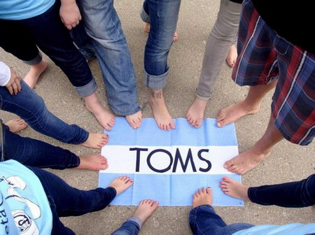 One Day Without Shoes from Toms Shoes